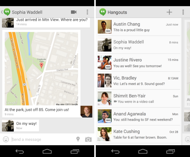 Download Hangouts For PC Download (Apk/Windows/Mac) | AppsPCdownload