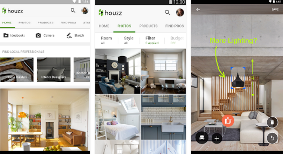 Houzz interior design ideas for pc windows 7 8 10 mac for Interior design application for pc