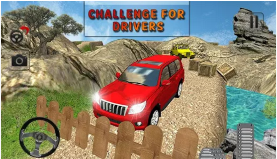 Download Crazy Offroad Prado Driving for PC