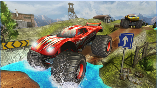 Download Monster Truck Hill Racing for PC