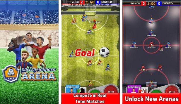 soccer manager arena for pc