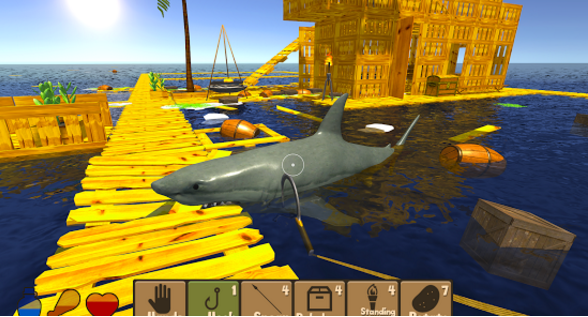 raft survival simulator for pc