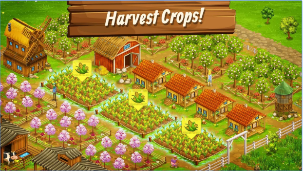 big farm mobile harvest for pc