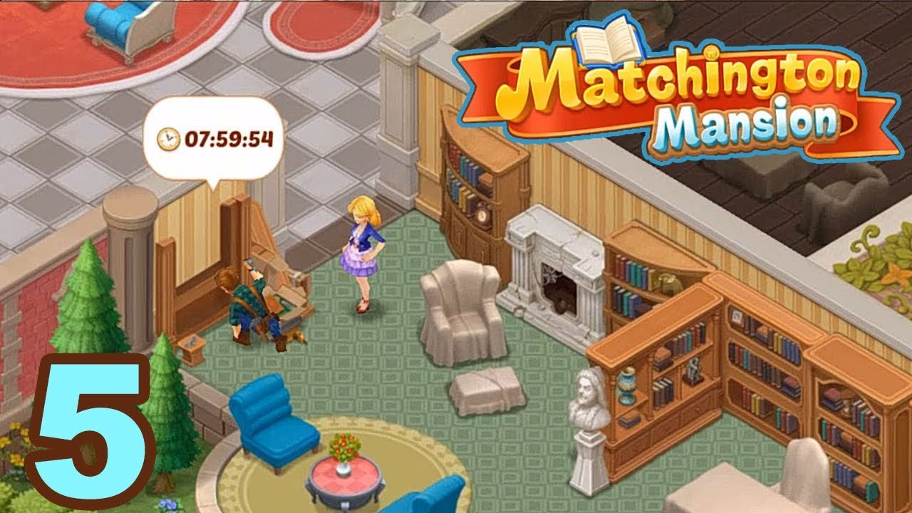 Matchington mansion match 3 home decor adventure for pc for Kitchen decoration games